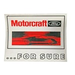 Motorcraft For Sure GT40 Decal