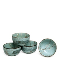 "Spring Blossoms 5"" Bowl Set"