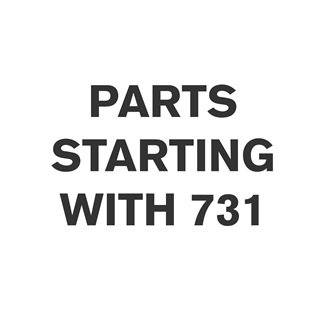 Parts Starting With 731