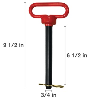 Red Head Hitch Pin