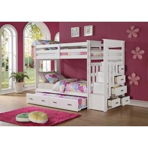 37370 ALLENTOWN WHITE BUNKBED
