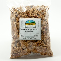Honey Gone Nuts Granola