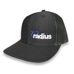 Radius Hat Black