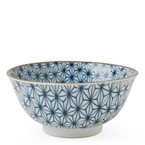"Asanoha Colors 5.75"" Bowl - Blue"