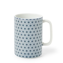 Mug 16 Oz. Asanoha Blue