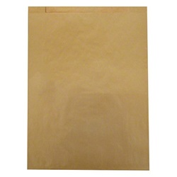 14926 6-1/4 X 9-1/4 KRAFT FLAT MERCHANDISE BAG,