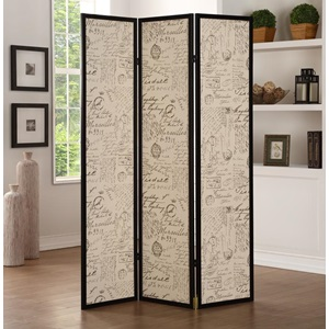 98293 3-PANEL WOOD SCREEN