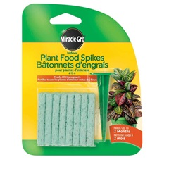 Miracle-Gro indoor Plant Food Spikes Tray