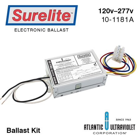 10-1181A Surelite Electronic Ballast Kit for Aqua-Pure™ UVBA-1