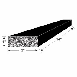 70-3907-97 EPDM Block Drawing