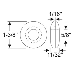 Multi-Purpose Grommet 1-3/8""