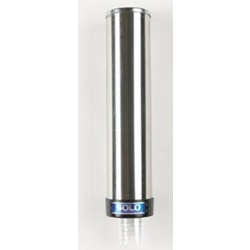 3200P SOLO SMALL PULL DISPENSER FOR 3.5 OZ CUP, STAINLESS STEEL