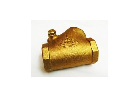 "1"" Brass Flapper Check Valve"
