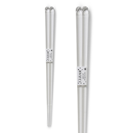 Chopsticks Acrylic Clear