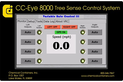 CC-Eye 8000 Tree Sense Control System