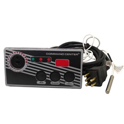 TOPSIDE: COMMAND CENTER - 3 BUTTON - 120V - 10' - WITH DIGITAL DISPLAY