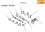 Curotto Can Pin Kit Assembly