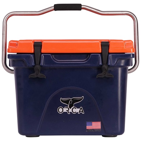 Navy/Orange 20 Quart