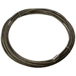 "7/8"" x 115' Roll Off Cable with Button"
