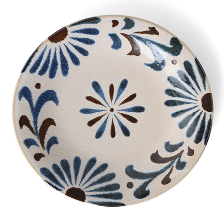 "Rustic Blue Floral 11"" Plate"