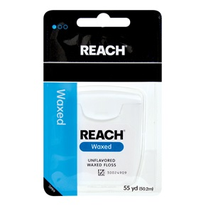 J&J Reach Waxed Dental Floss
