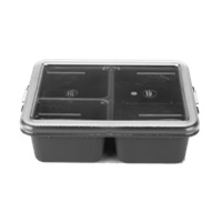 Cambro 9113CP161 Meal Delivery Tray 3-Compartment