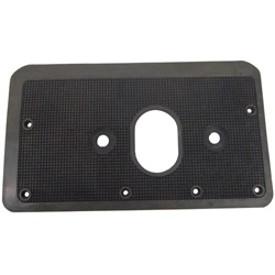 Steering column floorplate