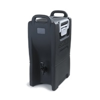 Carlisle IT50003 5 Gallon Black Beverage Dispenser