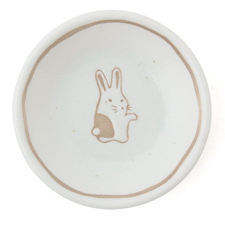 "Rabbit 3"" Sauce Dish"