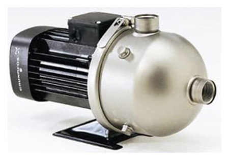 Grundfos Stainless Steel Multi-Stage Centrifugal Pump with 1 HP Engine