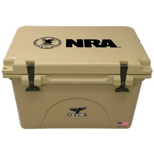 NRA Tan 40 Quart