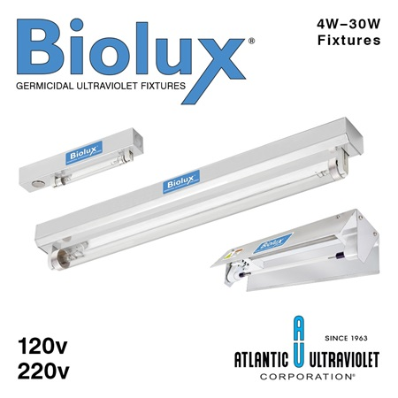 Biolux UV Irradiating Strip Fixtures
