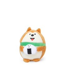 Plush Dog with Omusubi Small