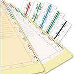 54520 Medical Chart Index Tabs & Divider Sheets