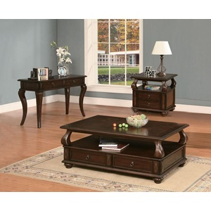 80010 WALNUT COFFEE TABLE