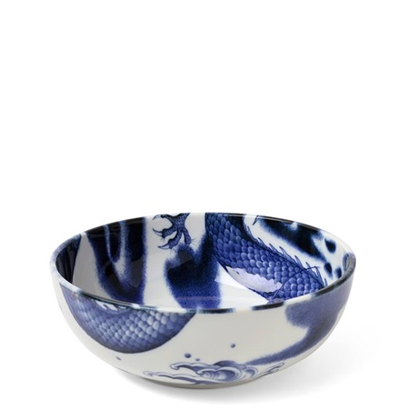 "Flying Dragon 7.75"" Serving Bowl"