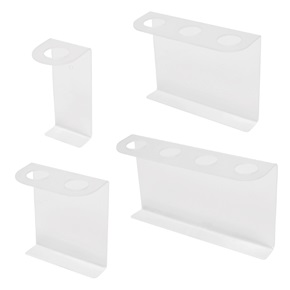 16oz Boston Rd Tall Dispenser Brackets, Frosted