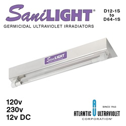 SaniLight UV Germicidal Irradiating Units