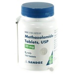 Methazolamide Tablets, 25mg