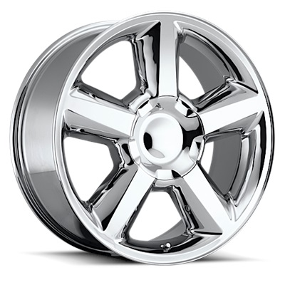 OE Replica 580 Series 22x9 6x139.7 - Chrome