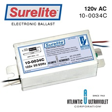 Ballast: Surelite™ Instant Start 120v 50/60Hz / 430mA. with LED RoHS