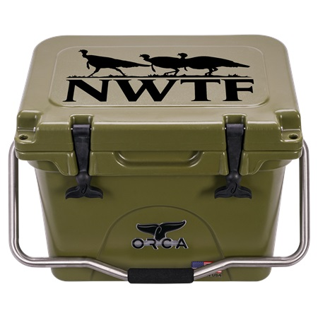 NRA green 20 quart orca