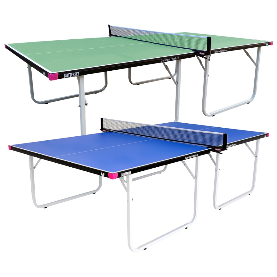 Butterfly table tennis compact outdoor table no assembly - Dimension d une table de ping pong ...