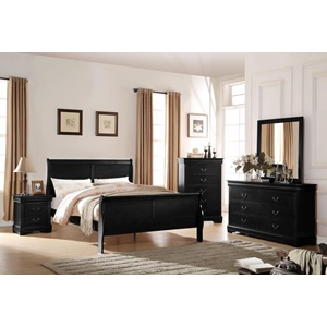 23727EK LOUIS PHILIPPE BK E. KING BED