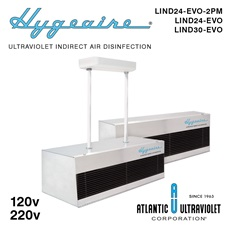 Hygeaire® Ultraviolet Indirect Air Disinfection Fixtures