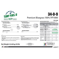 Turf Fuel 34-0-9 Turf Fertilizer