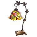 Leaves accent table lamp