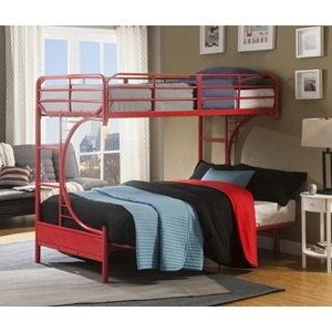 02081RD RED T/F BUNKBED KD VERSION
