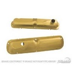 64-65 Valve Covers(Gold, Fits 260 & 289)