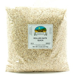 Oats, Quick Rolled (5lb Bag)